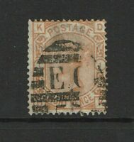 Great Britain SG# 156 Used / Shallow Top Thin / Wmk Large Garter - S4495