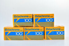 kodak ektachrome 100 / 24exp  x 5 films