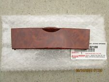 03-08 TOYOTA COROLLA DASH INSTRUMENT CLIMATE CONTROL PANEL UPPER COVER BROWN NEW