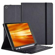iPad 7th Generation Case with Keyboard, Thin & Light - Wireless/BT- iPad