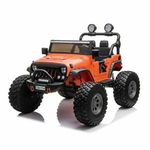 RiiRoo XT3 Big Jeep Monster Style Kids 12V Electric Ride On Battery Car