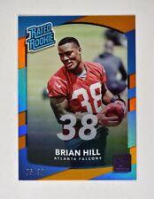 2017 Donruss Jersey Number #310 Brian Hill RR /38 - NM-MT