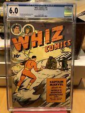 Whiz Comics #70 - 1946 Fawcett Golden Age issue - CGC 6.0