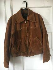 Vintage -Sears Western Wear-Lined Corduroy Jacket