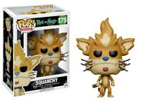 Funko - POP Animation: Rick &Morty - Squanchy #175 Vinyl Action Figure Brand New
