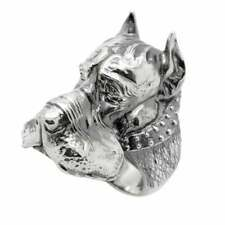 Great Dane Dog Breed Ring • Mens Ring Sterling Silver 925