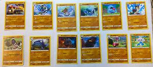 Pokemon Clash Der Rebellen Kampf Kartenset Boosterfrisch 12 Stück
