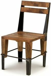 The Barrel Shack The Morris - Handmade Wood and Metal Chair