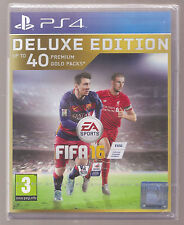 FIFA 16 Deluxe Edition Ps4 PlayStation 2016 PAL