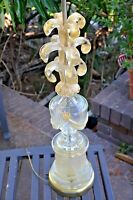 STUNNING!! Mid Century Modern Ercole Barovier&Toso Murano Art Glass Table Lamp