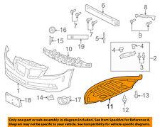 Pontiac GM OEM 08-09 G8 Front Bumper-Lower Spoiler Chin Lip Splitter 92201783