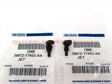 Ford F150 Expedition Front Windshield Washer Fluid Spray Jet Nozzles Set OEM NEW