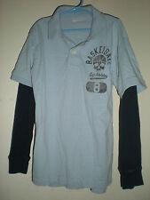 Boy's GapKids Long Sleeve Athletic Polo Shirt Medium 8