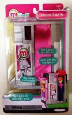 MiWorld Photo Booth Playset Mini Miniature Mi World Jakks Pacific New !