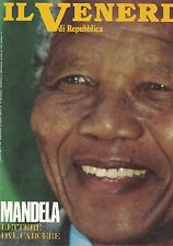 1990 03 02 - IL VENERDI DI REPUBBLICA - 02-03-1990 - N.108 - NELSON MANDELA