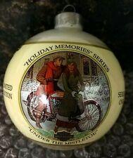 Harley Davidson 1994 Christmas Bulb Ball Ornament Pre-Owned No Box