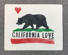 BILLABONG CALIFORNIA LOVE Bear Flag Sticker 5in NORCAL si