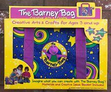 The Barney Bag 1994 Very Rare Original Lyons Group with Box Euc!