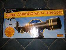 National Geographic 50mm Astronomical Telescope Tripod Brand New