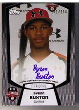 2011 Bowman Under Armour Byron Buxton Auto 171/233