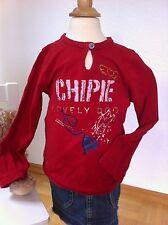 Chipie! traumhaftes Shirt in rot mit vielen Details! TOP! Gr. 3 Jahre