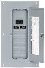 Square D Main Breaker 125 Amp 24 Space 48 Circuit Panel Box Indoor Load Center