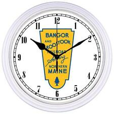 Bangor and Aroostook Railroad Wall Clock