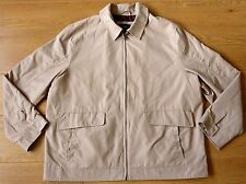 Thomas Nash Men's Cotton Brown Beige Casual Jacket Size XL
