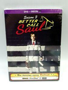 DVD vidéo coffret BETTER CAUL SAUL  saisons 3 neuf sous scello