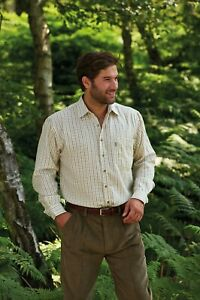 Walker and Hawkes - Mens Long Sleeved Cotton Country Check Easy Care Shirt