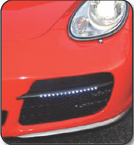 NEW ...... 991 STYLE GRILLS WITH LED LIGHTS FOR 2006-8 PORSCHE CAYMAN