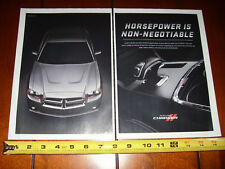 2012 DODGE CHARGER - 2 PAGE ORIGINAL AD