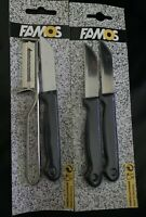 Famos Classic Swivel Peeler Set + nife Set  New & Sealed