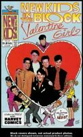 New Kids on the Block: Valentine Girl #1 Harvey 1990 VF/NM