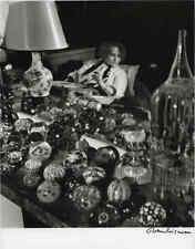Robert Doisneau Colette chez elle,tirage original signé