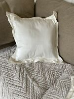 Sheridan Ivory Oxford Cushion