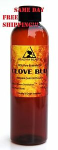 CLOVE BUD ESSENTIAL OIL ORGANIC AROMATHERAPY 100% PURE NATURAL 4 OZ