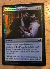 Murderous Compulsion FOIL Shadows over Innistrad NM-M Black Common CARD ABUGames