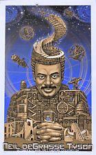 NEIL DeGRASSE TYSON -- Rare Emek art poster - Cincinnati 2015 numbered & signed