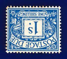 More details for 1915 sg d8wi 1s bright blue (wmk inv) r8(1)a mmh cv-£40 cchd