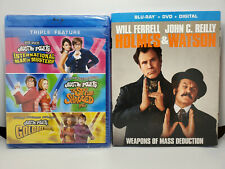 Austin Powers Collection + Holmes & Watson (Blu-ray+DVD+Digital+Slip Cover)