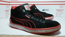 Pre Owned Used Worn Puma Ducati Motorcycle Sneakers Mens Sz 9.5 - Fast Ship -