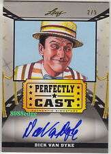 2014 POP CENTURY PERFECTLY CAST AUTO: DICK VAN DYKE #2/5 AUTOGRAPH MARY POPPINS