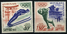 Gabon 1972 SG#440-1 Winter Olympic Games MNH Set #D35408