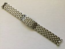 18MM NEW SOLID STAINLESS STEEL BRACELET BAND STRAP FOR LONGINES FLAGSHIP L4 774