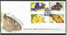 Niuafo`ou, Scott cat. 225-228. Butterflies issue. First day cover.