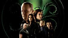 Season 4 agents of shield Clark Gregg Ming Na Silk Poster Wallpaper 24 X 13 inch