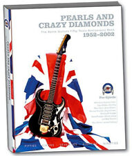 """PEARLS & CRAZY DIAMONDS"" (50 YEARS OF BURNS GUITARS)  HARDBACK BOOK"
