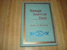 Awesome 1977 Vintage book - Navajo Shepherd and Weaver by Gladys A. Reichard