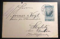 1907 Sarajevo Bosnia Herzegovina KUK PO Postcard Cover To Berlin Germany